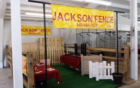 jackson fence display at geauga fair